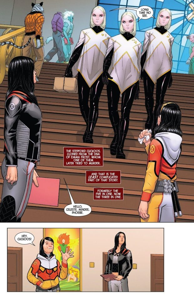Stepford Cuckoos (X-23 Vol. 4 #1)