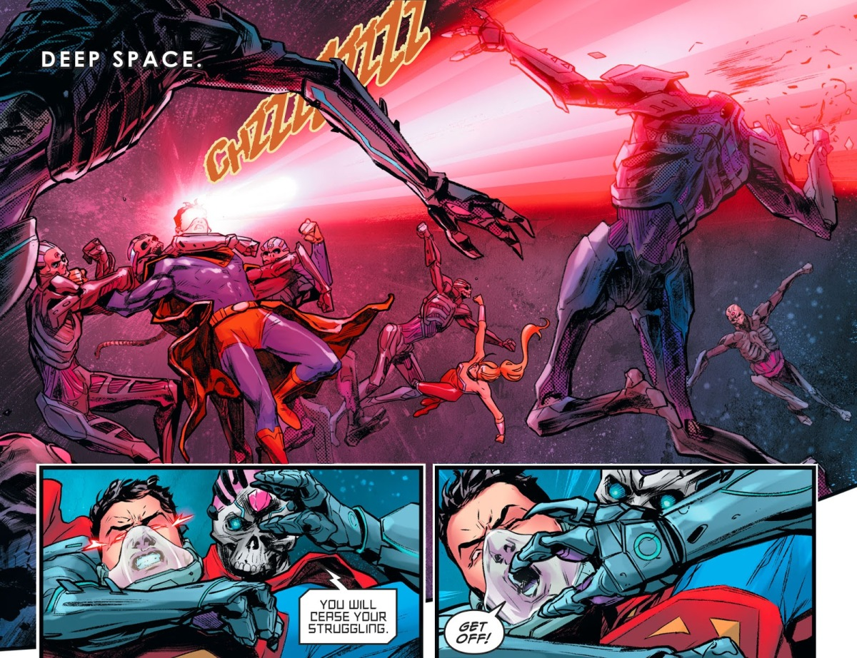 Superboy And Wonder Girl VS Brainiac's Robots (Injustice ...