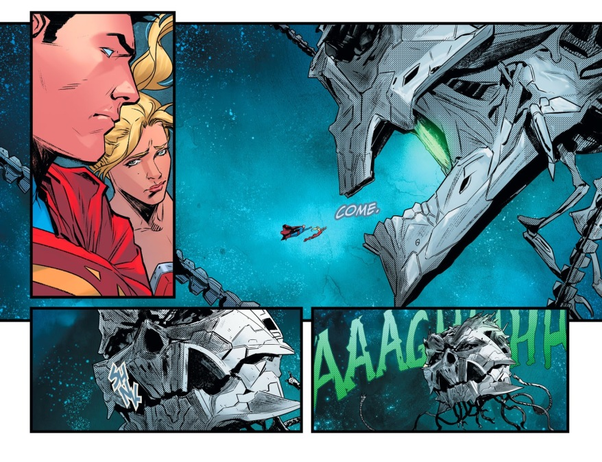 Superboy And Wonder Girl VS Brainiac's Robots (Injustice II)