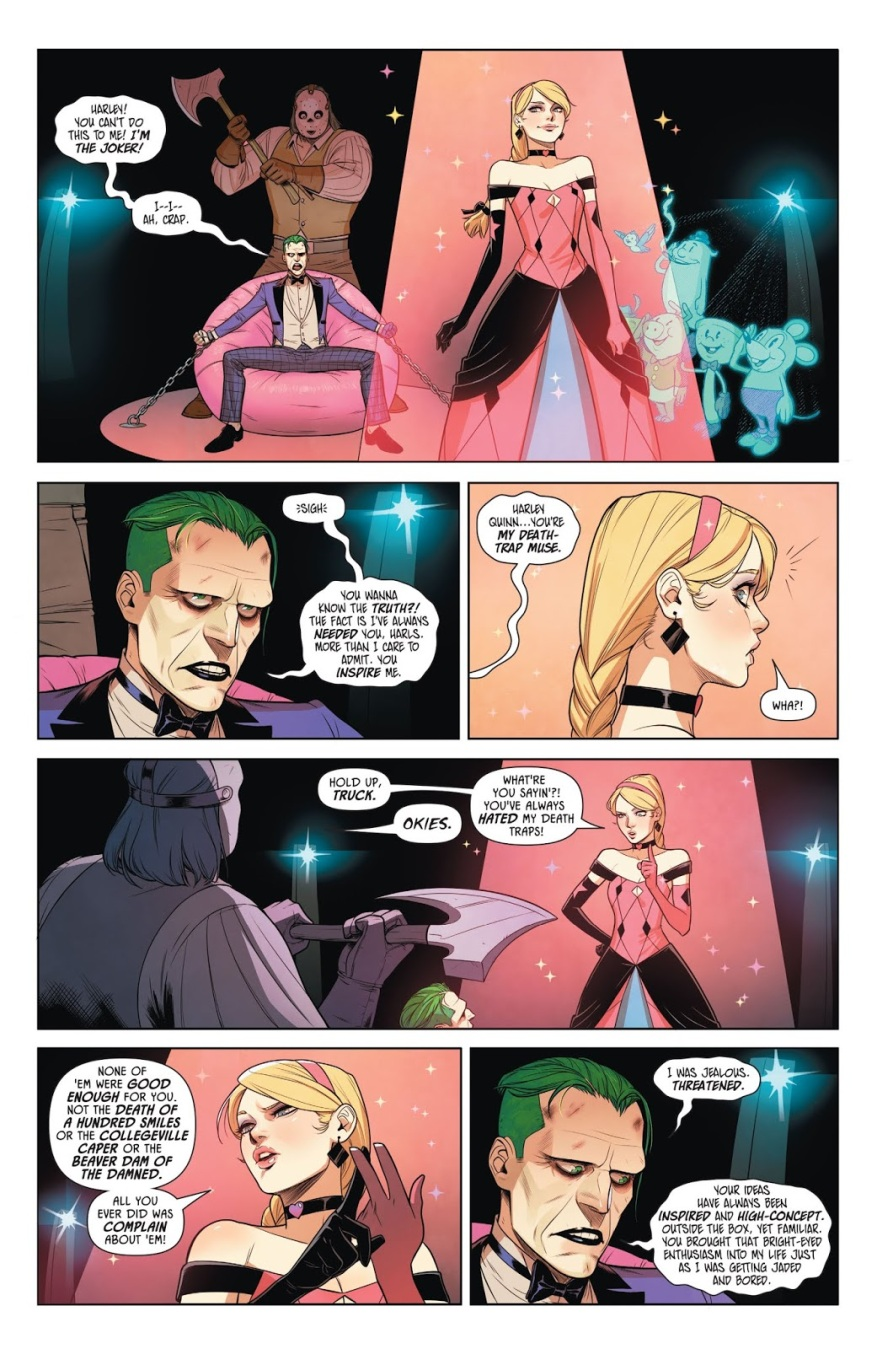 The Joker Is Jealous Of Harley Quinn