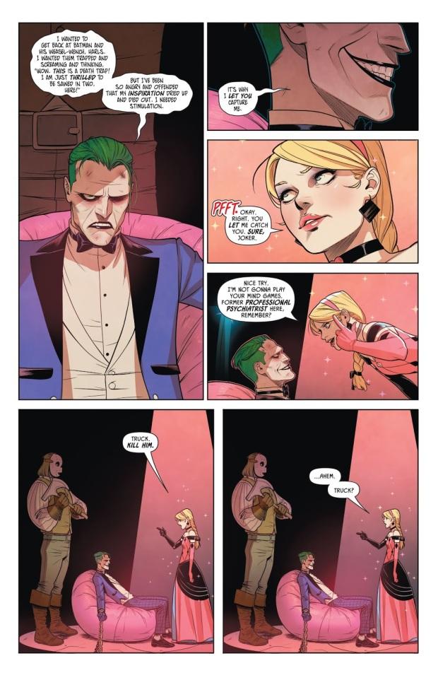 The Joker Is Jealous Of Harley Quinn