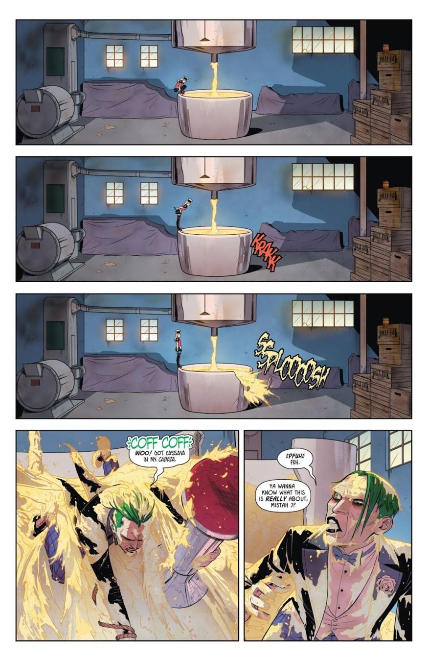 The Joker Stuck In Harley Quinn's Death Trap