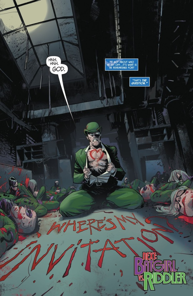 The Riddler (Batman: Prelude To The Wedding)