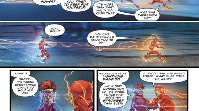 Wally West Breaks Gorilla Grodd's Mind Control (Rebirth)