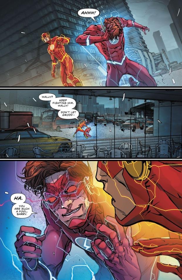 Wally West Breaks Gorilla Grodd's Mind Control (Rebirth)