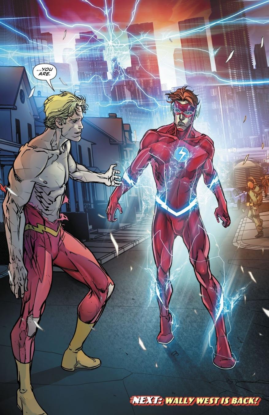 Wally West (The Flash Vol. 5 #40)