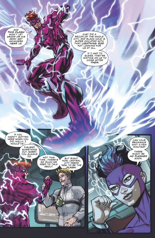 Wally West (The Flash Vol. 5 #41)