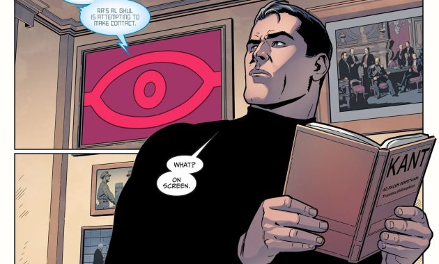 Batman Reading Immanuel Kant (Injustice II)