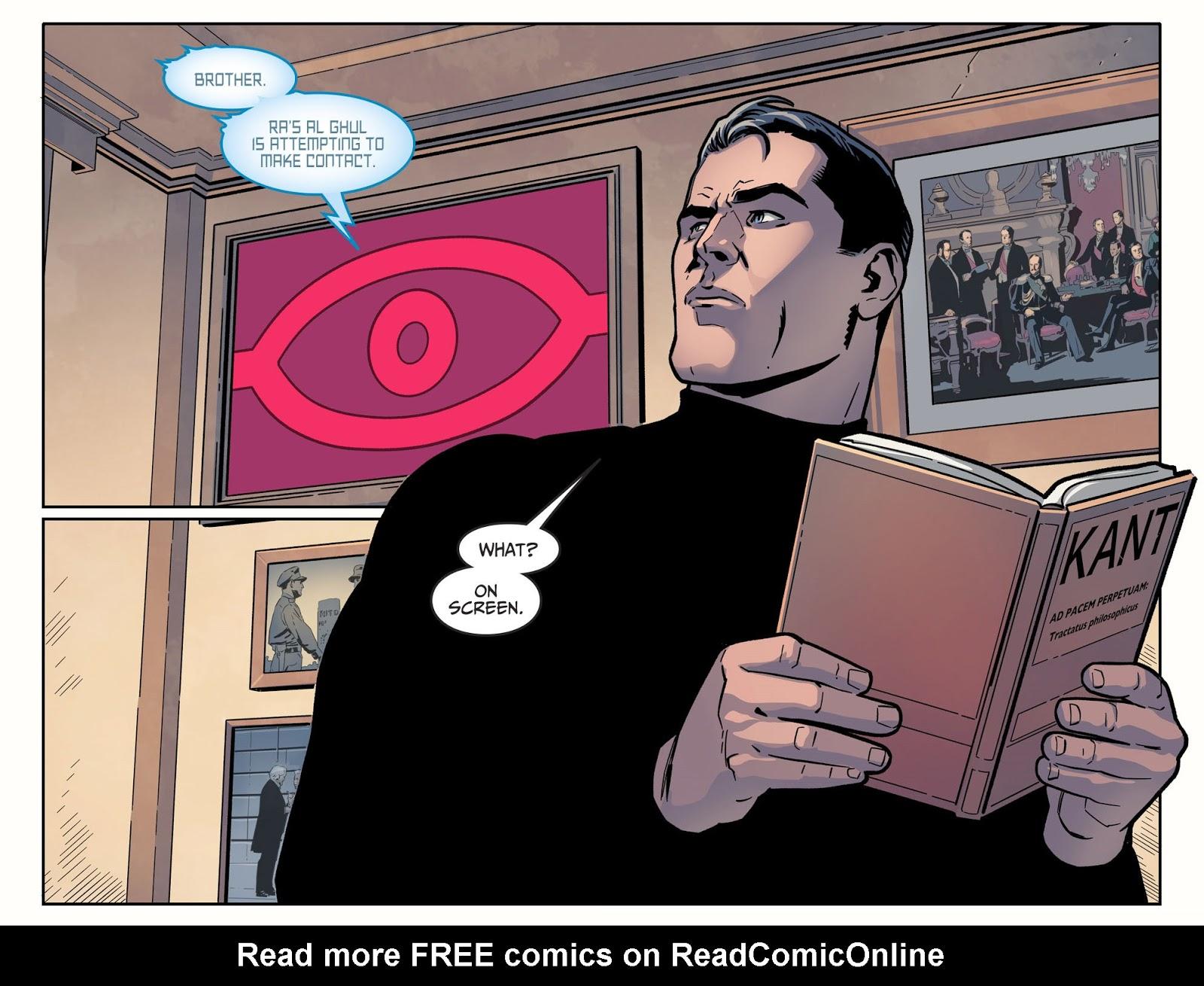 Batman Reading Immanuel Kant (Injustice II) | Comicnewbies