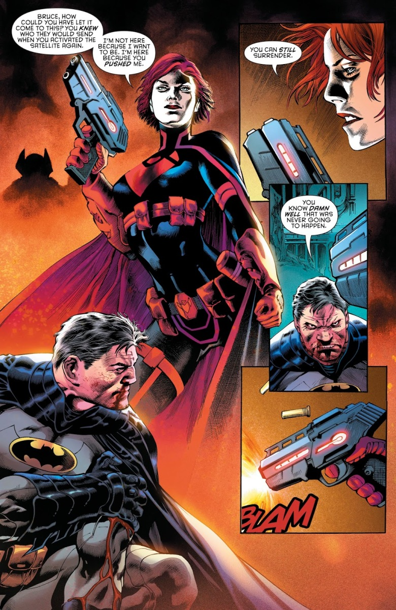 Batwoman Kills Batman In The Future