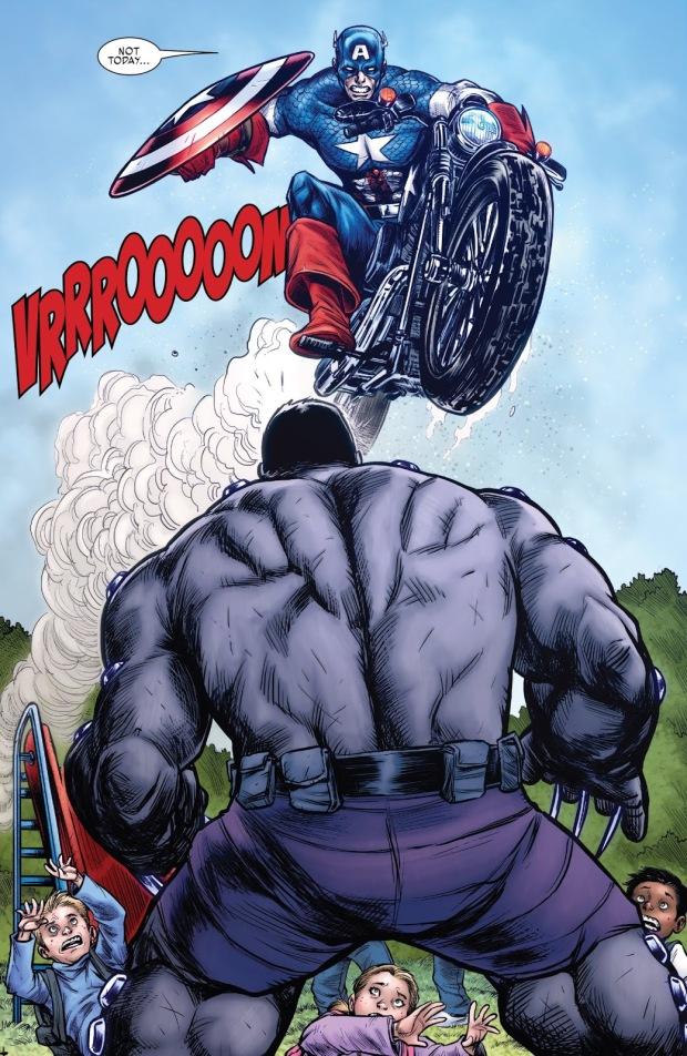 Captain America Meets Hulkverine