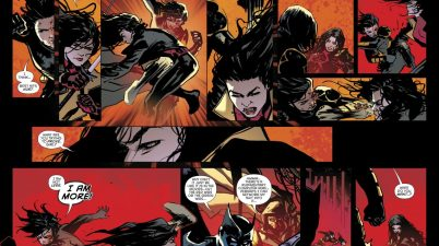 Cassandra Cain Defeats Lady Shiva (Rebirth)