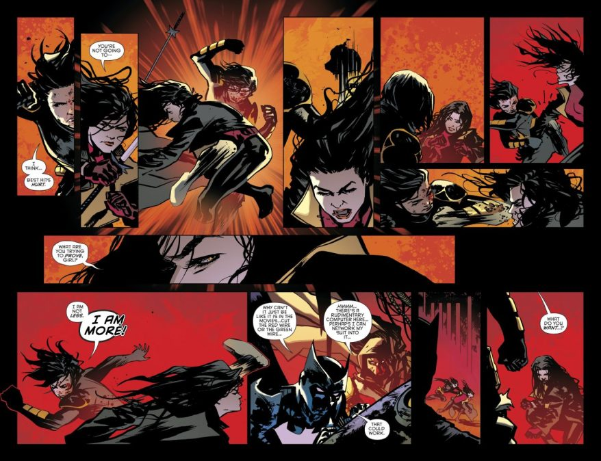 Cassandra Cain Defeats Lady Shiva (Rebirth)