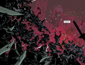 Cassandra Cain Defeats The League Of Shadows