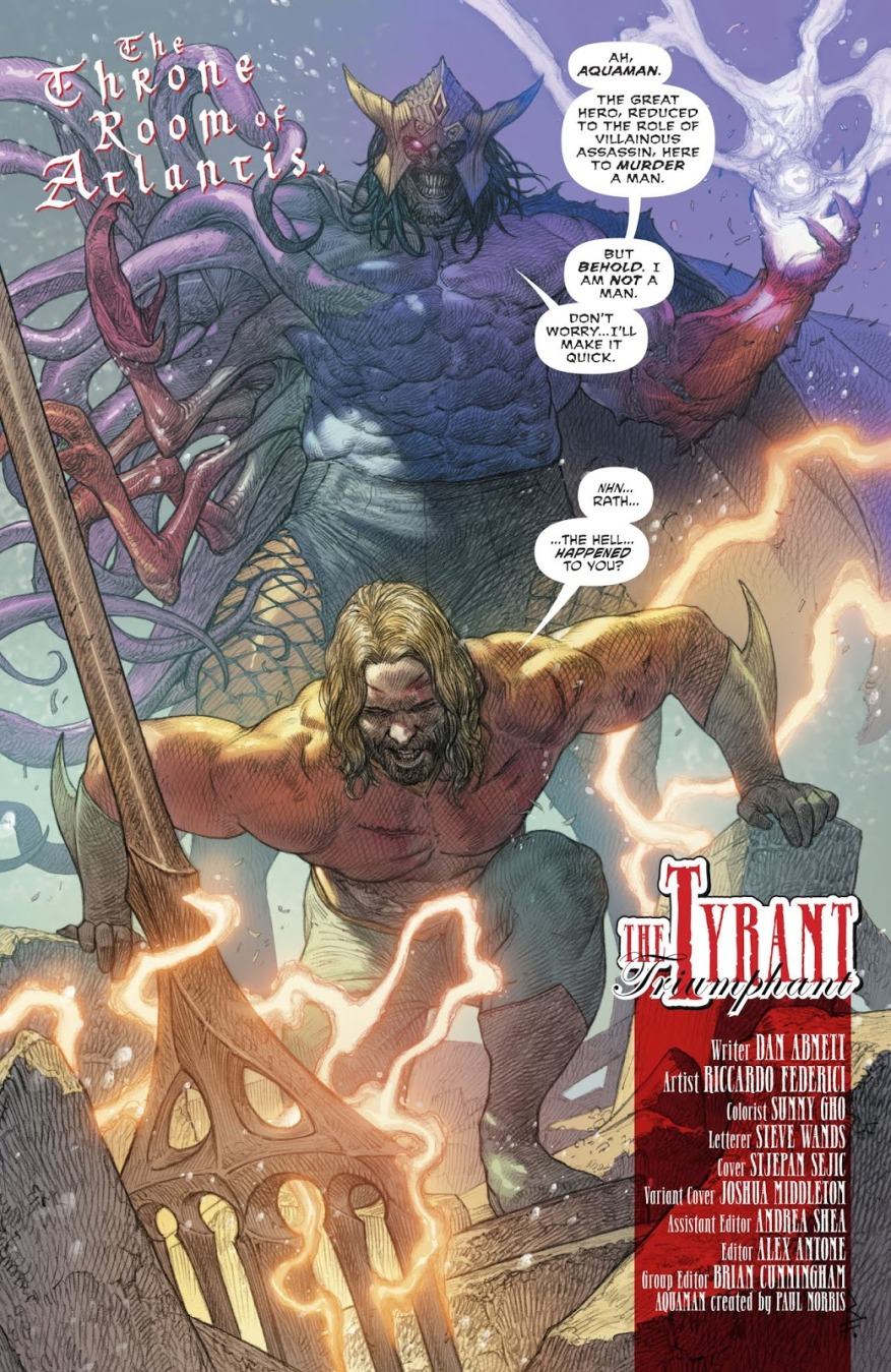Corum Rath (Aquaman Vol. 8 #37)