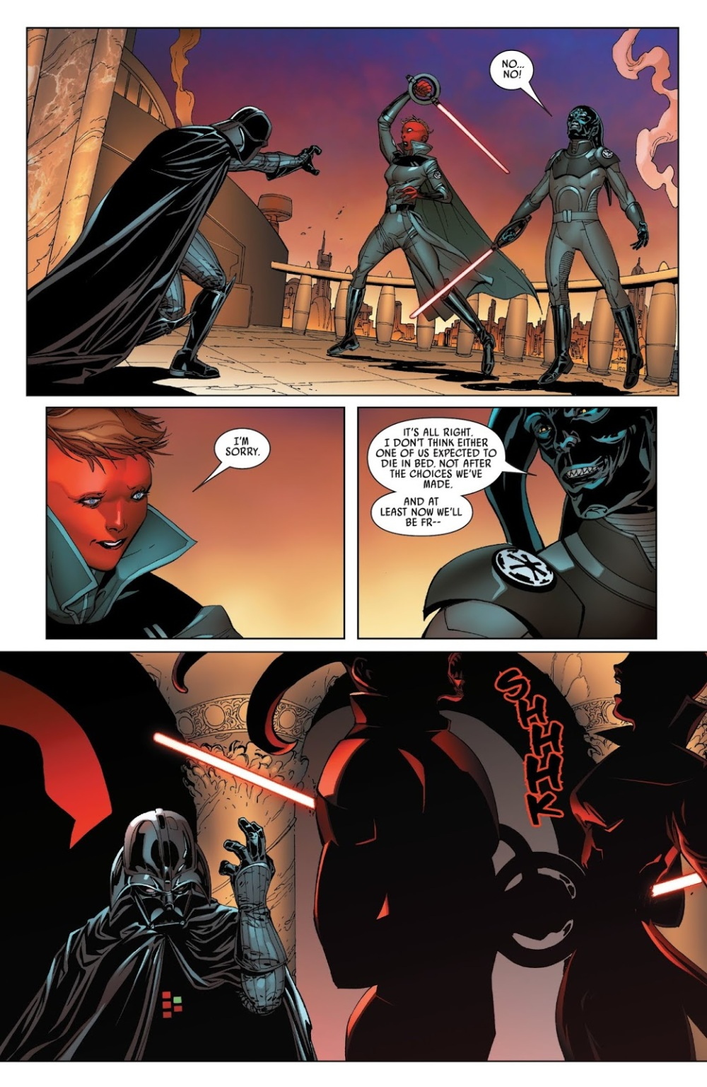 Image result for vader kills two inquisitor