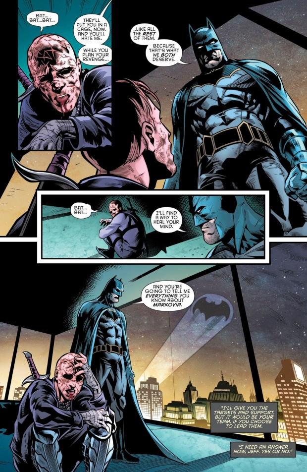 How Batman Defeated Karma (Rebirth)