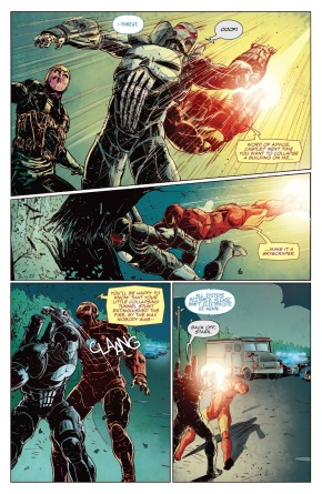 Iron Man VS War Machine Punisher