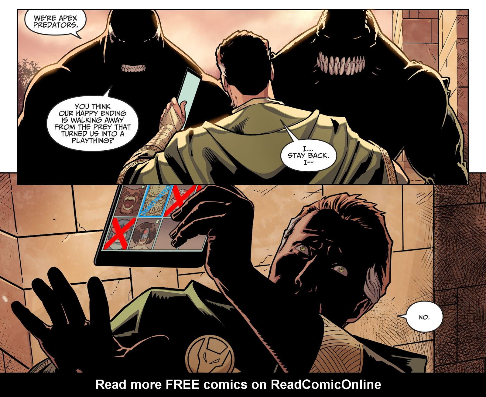 Killer Croc Bites Off Ra S Al Ghul S Hand Injustice Ii Comicnewbies