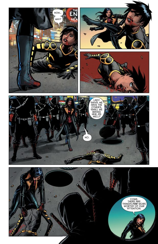 Lady Shiva Beats Up Cassandra Cain (Rebirth)