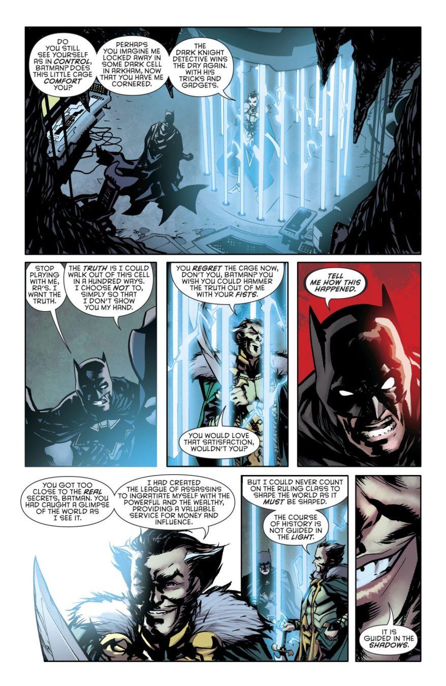 Ra's al Ghul Describes The League Of Shadows
