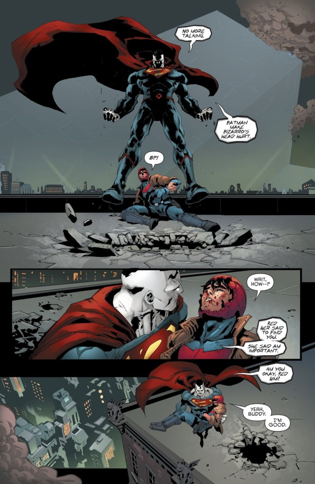 Red Hood VS Batman (Red Hood and the Outlaws Vol. 2 #25)