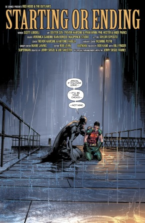 Robin Jason Todd Saves Batman's Life (Rebirth)