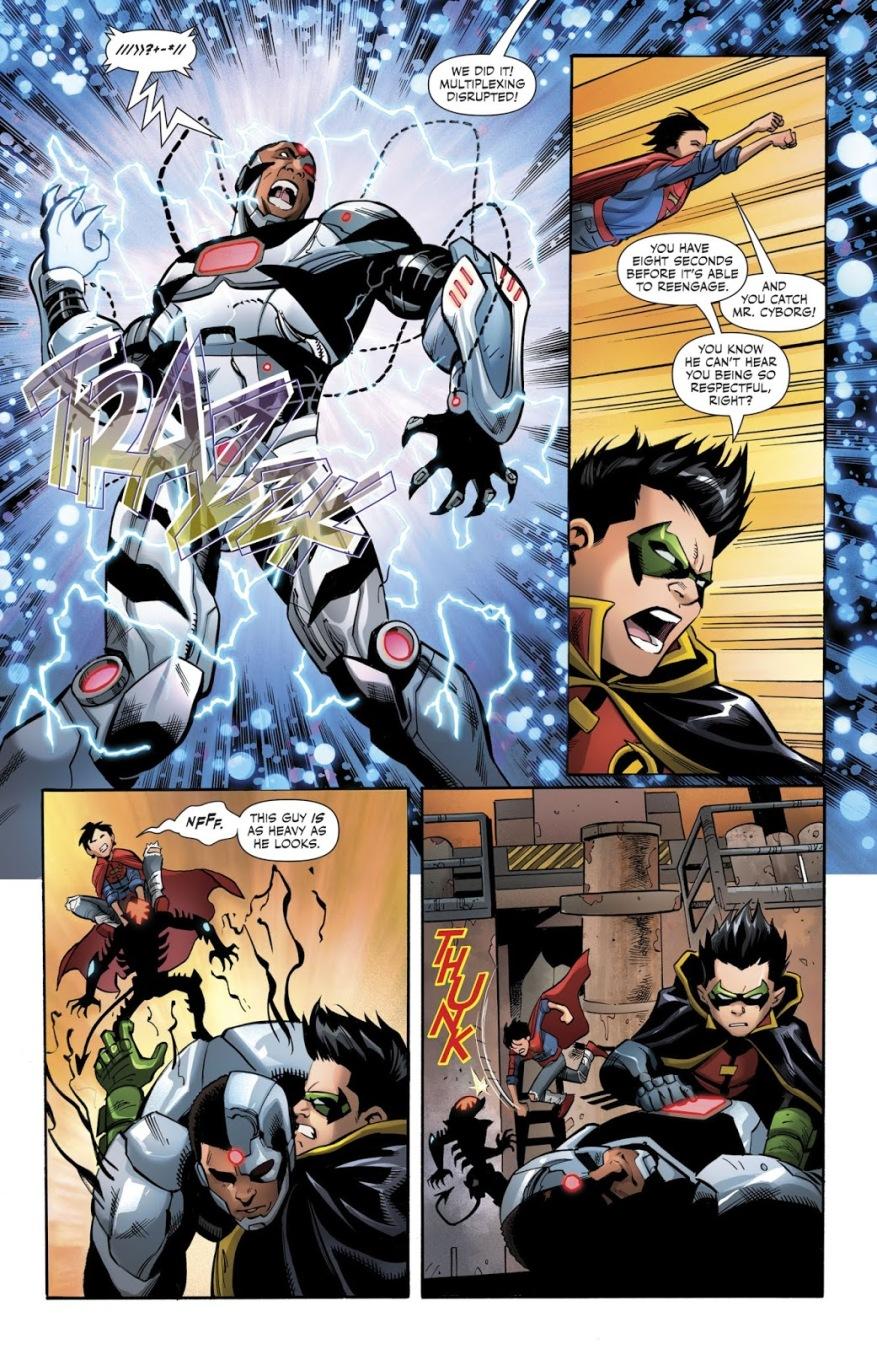 Super Sons VS Kid Amazo