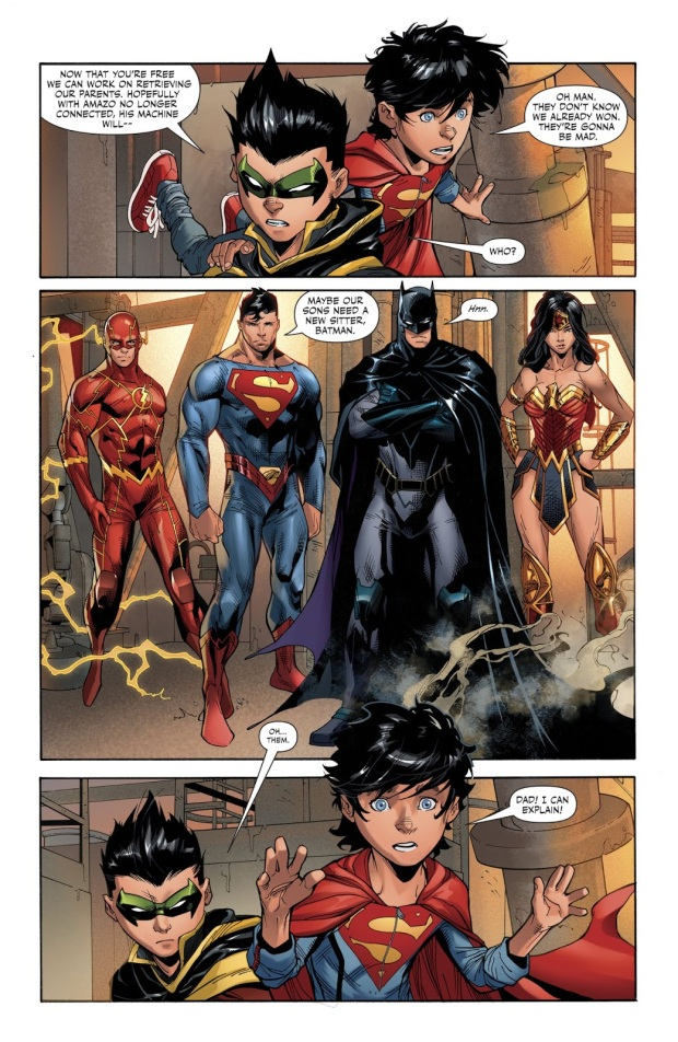 Super Sons VS Kid Amazo