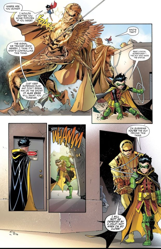 Superboy And Robin VS The Puppeteer (Rebirth)