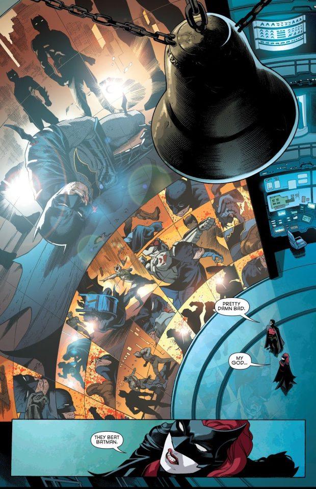 The Colony Defeats Batman