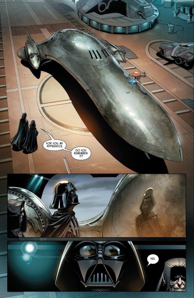 The Emperor Trolls Darth Vader