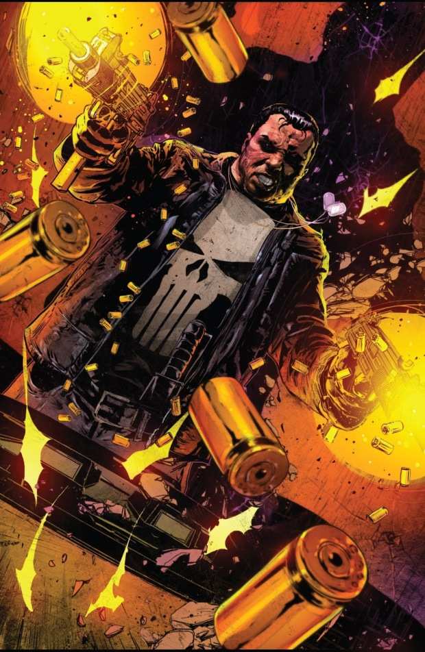 The Punisher Attacks A Roxxon Facility