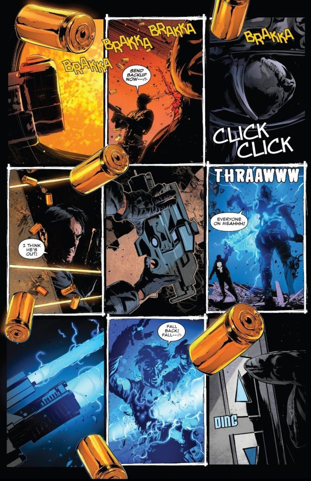 The Punisher Attacks A Roxxon Facility