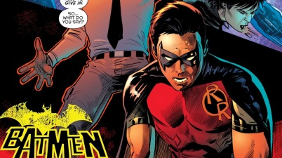 Tim Drake Becomes An OMAC