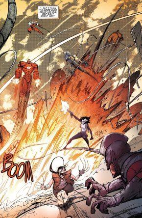 Weapon X VS Winter Guard