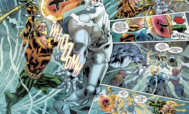 Aquaman VS Lord Satanis