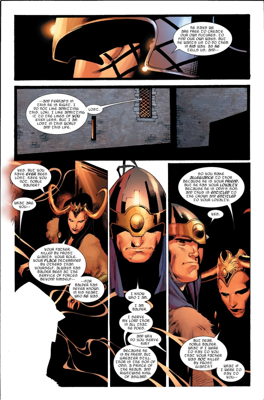 Balder Learns Odin Is His Father