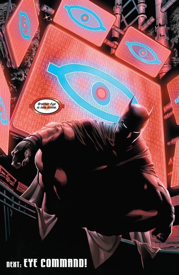 Batman And Brother Eye (Detective Comics #967)