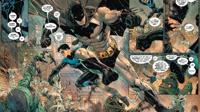 Batman And Nightwing VS Mummies