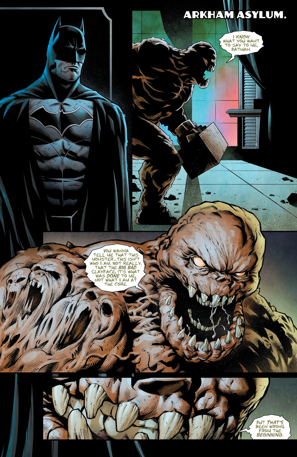 Batman VS Clayface (Detective Comics #972) ...
