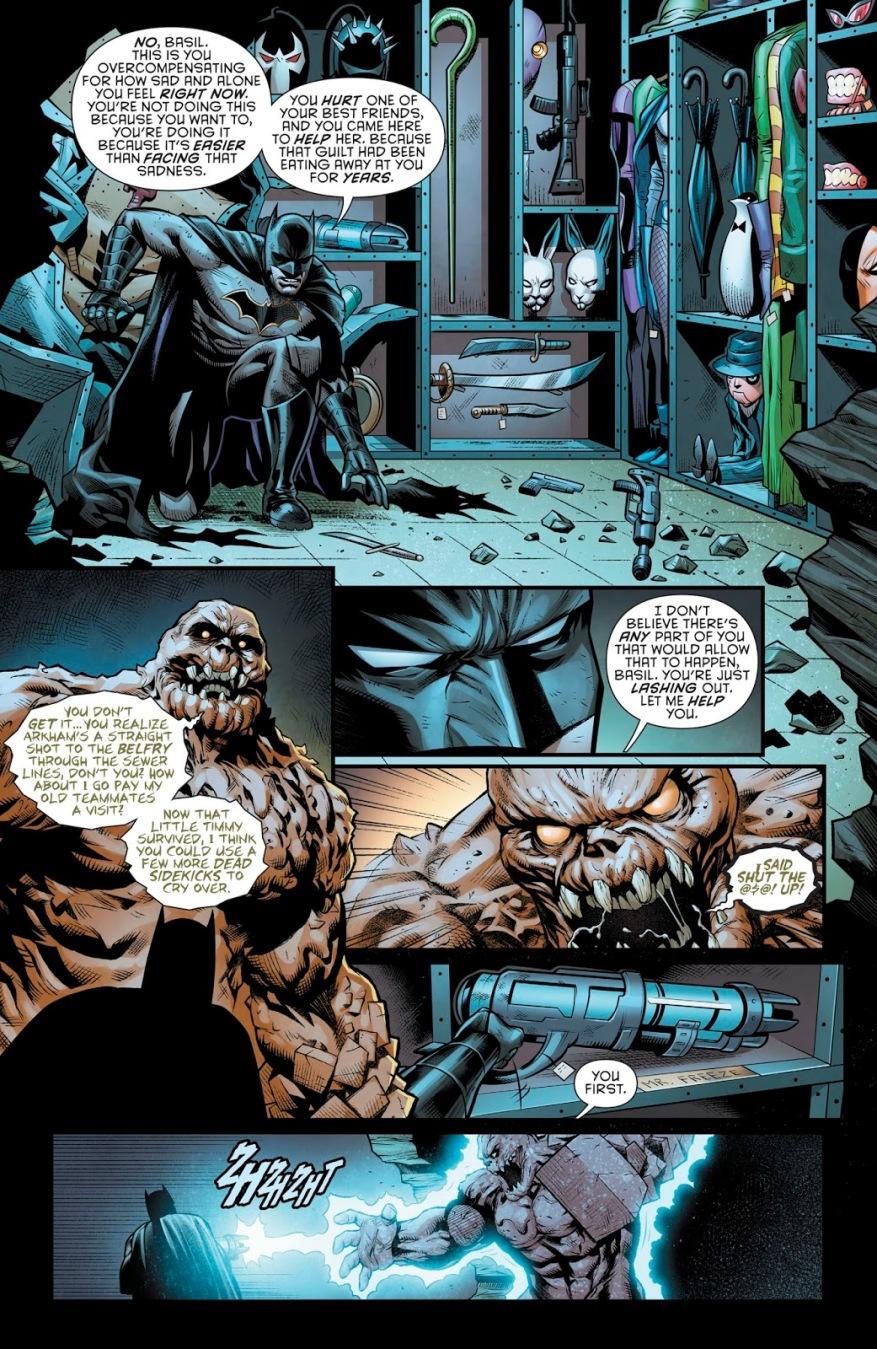 Batman VS Clayface (Detective Comics #972)