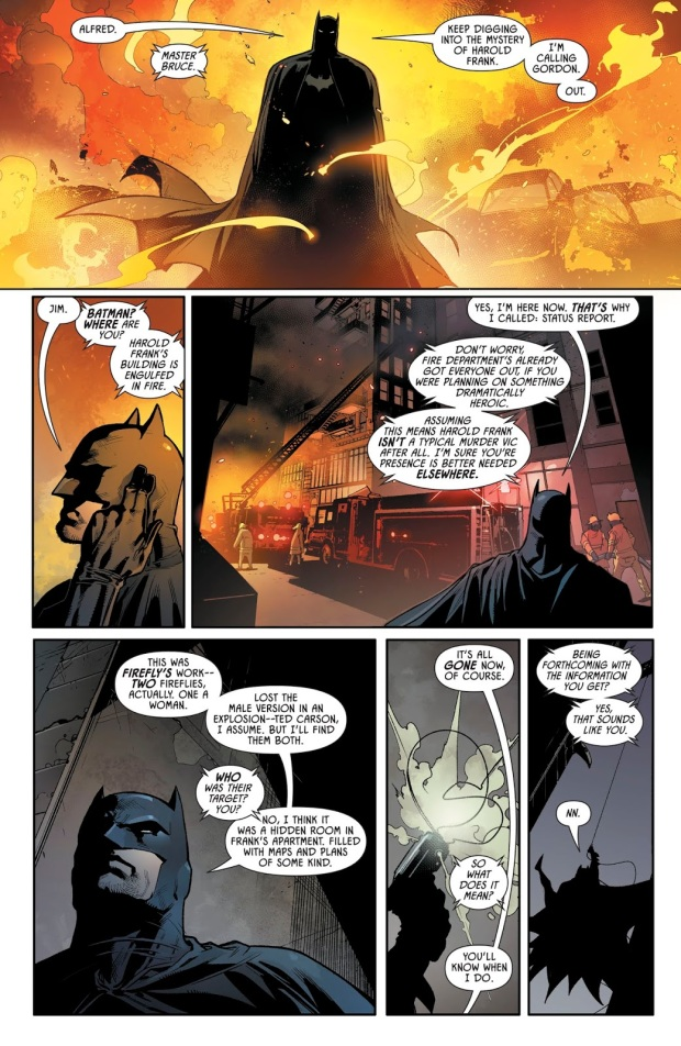 Batman VS Firefly (Detective Comics Vol. 1 #988)