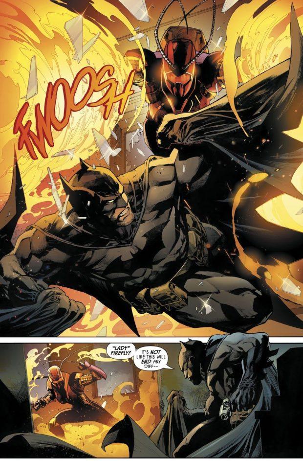 Batman VS Lady Firefly
