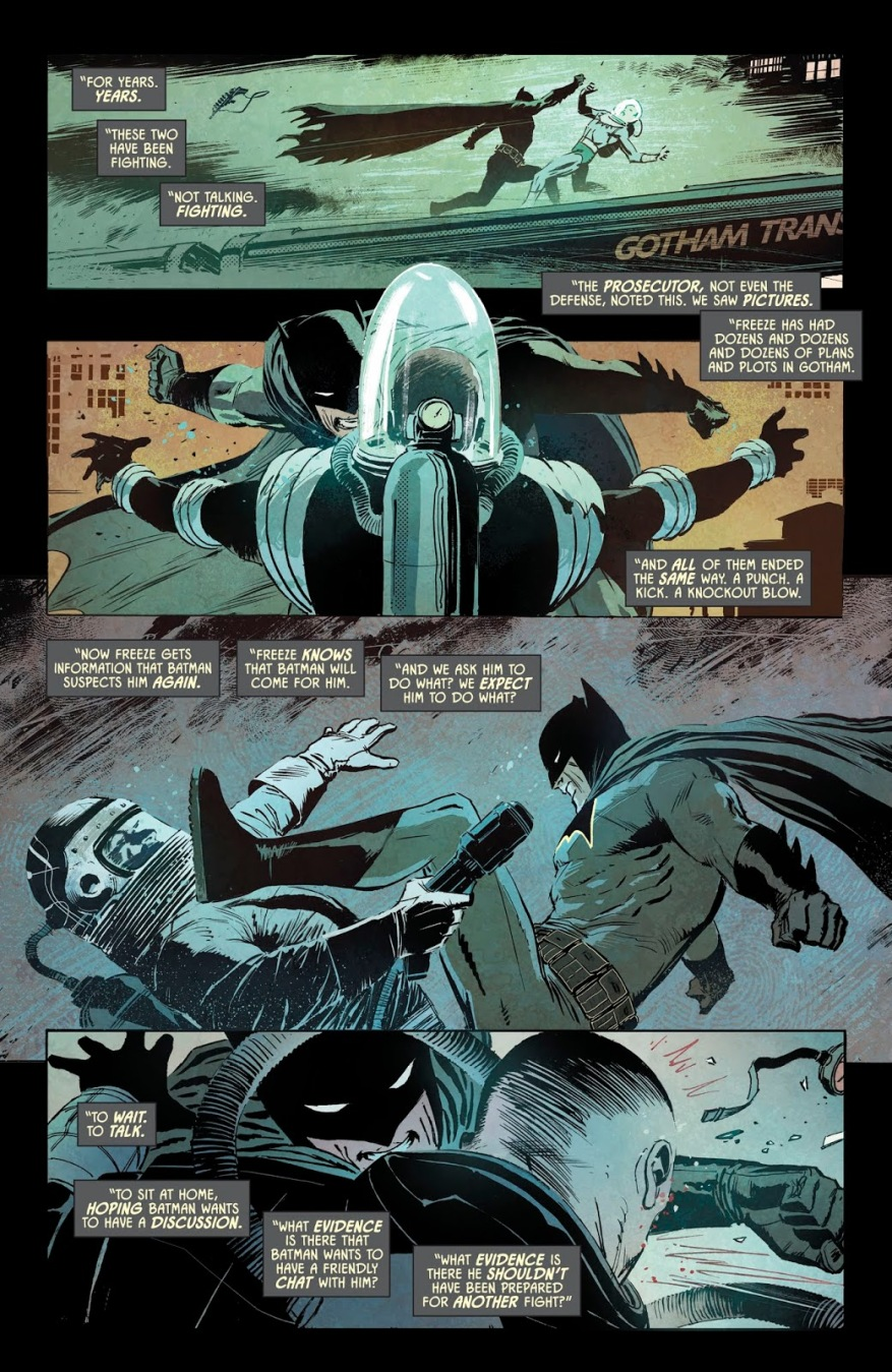 Batman VS Mister Freeze (Rebirth)