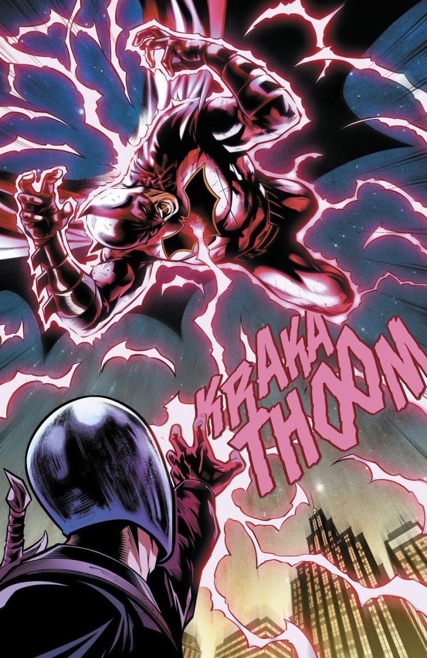 Black Lightning Learns Batman Is Bruce Wayne (Rebirth)