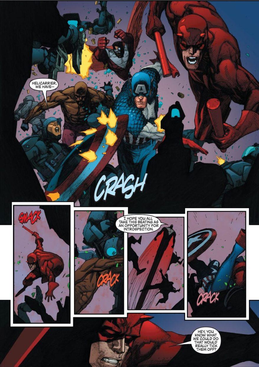 Captain America Recruits Luke Cage (Civil War)