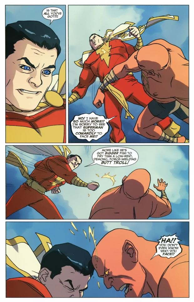 Captain Marvel VS Sabbac (First Thunder)