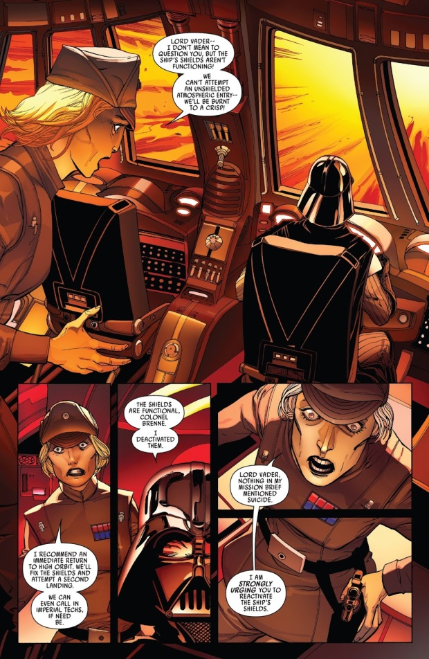 Darth Vader Redesigns Padme Amidala's Ship