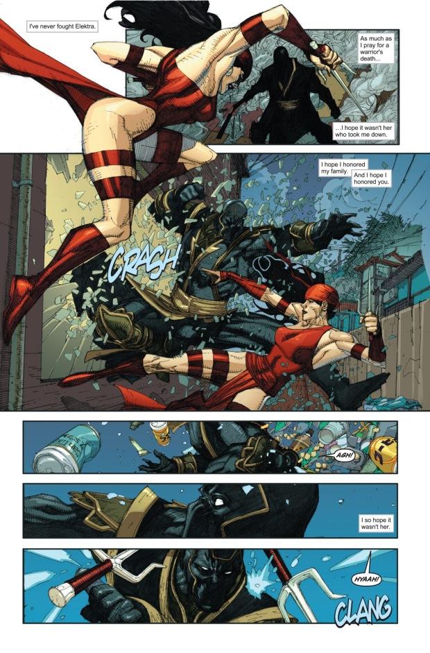 Elektra Kills Maya Lopez